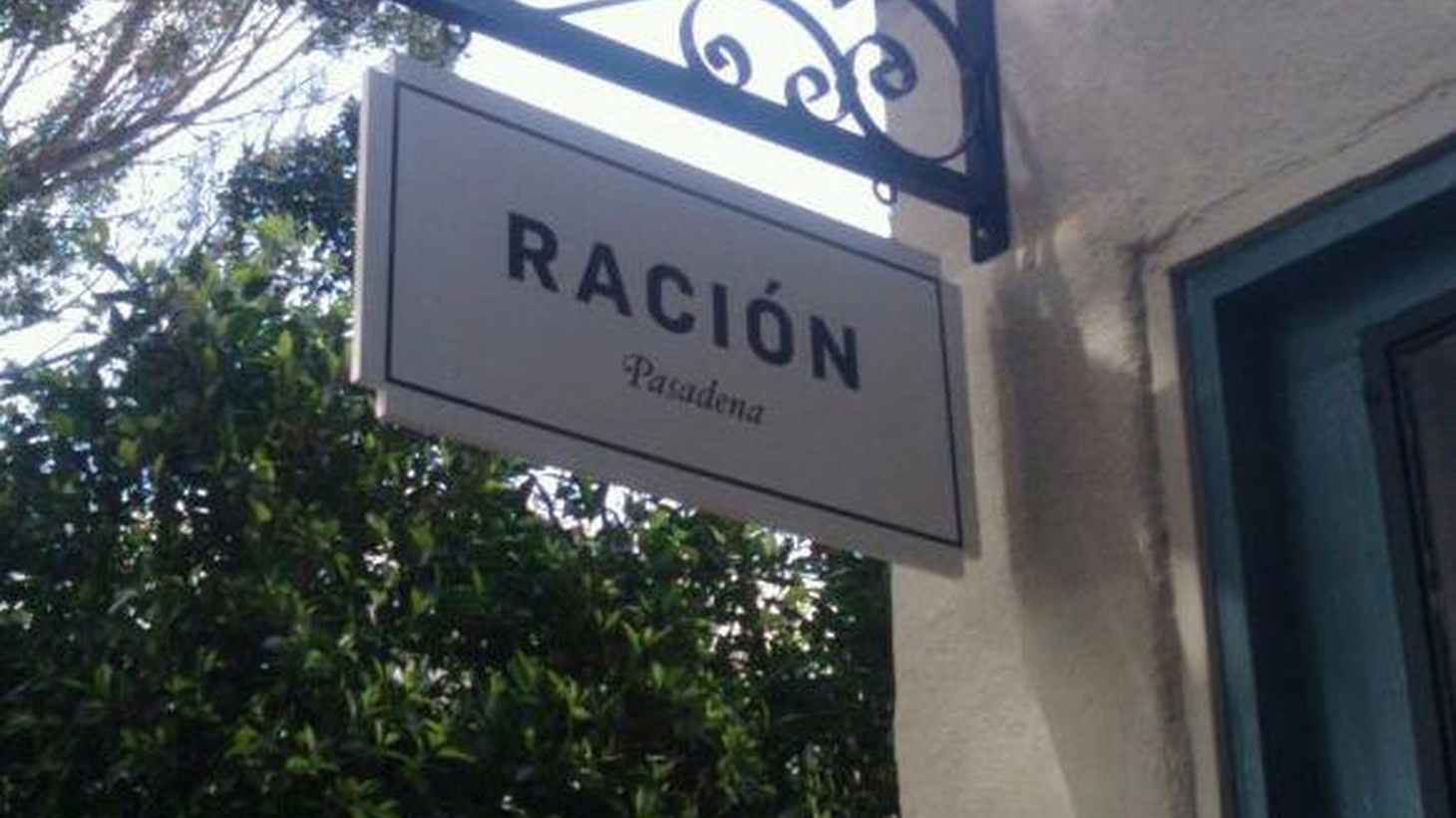 Jonathan Gold visits the newly opened Ración, a Basque-inspired restaurant in Pasadena.