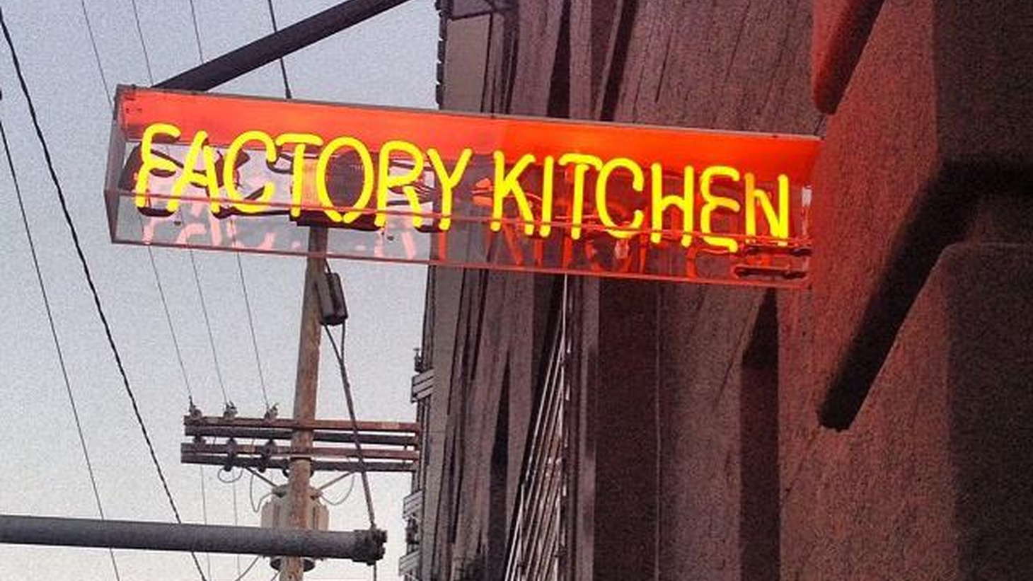 Jonathan Goldreviews  Factory Kitchen , a new Italian restaurant in the Arts District in downtown LA.