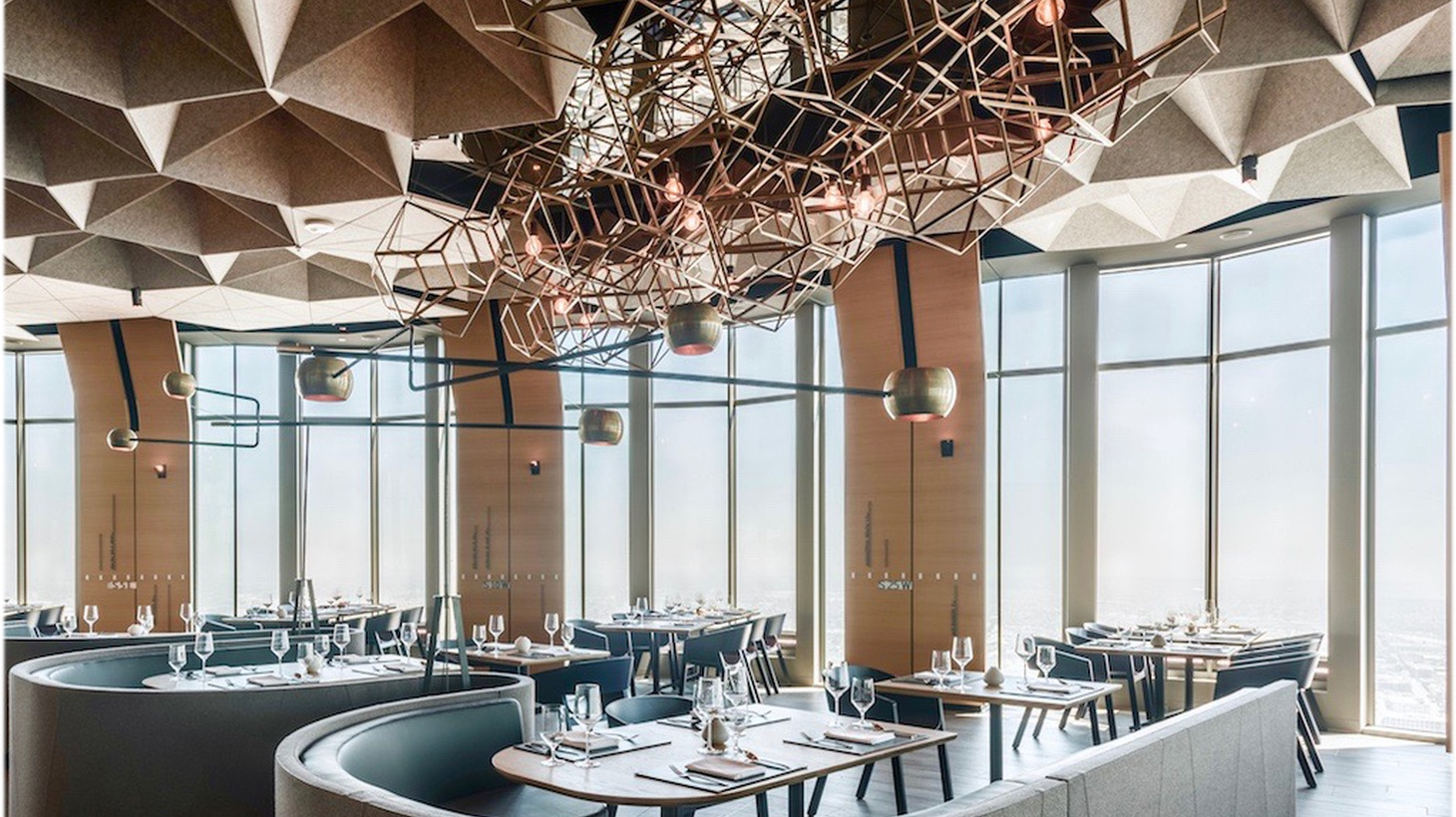 LA Times food critic Jonathan Gold dines high in the sky this week at 71Above in Downtown.