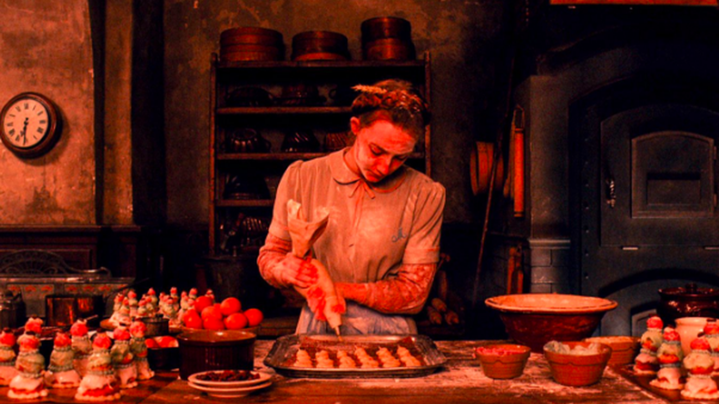 Saoirse Ronan stars as Agatha, a baker of intricate pastries in 