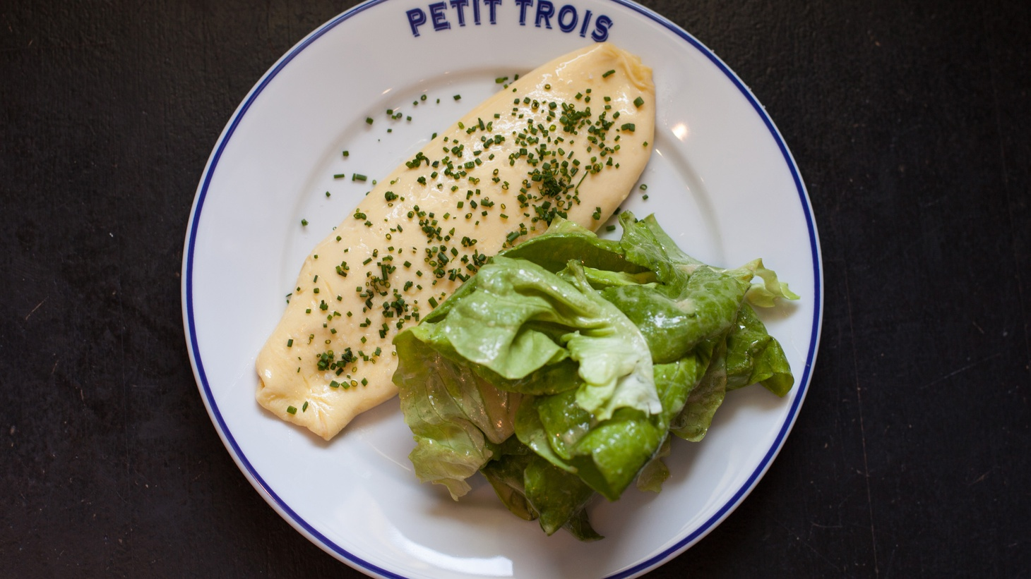 Jonathan Gold reviews Petit Trois, Chef Ludo's new casual french bistro in Hollywood.