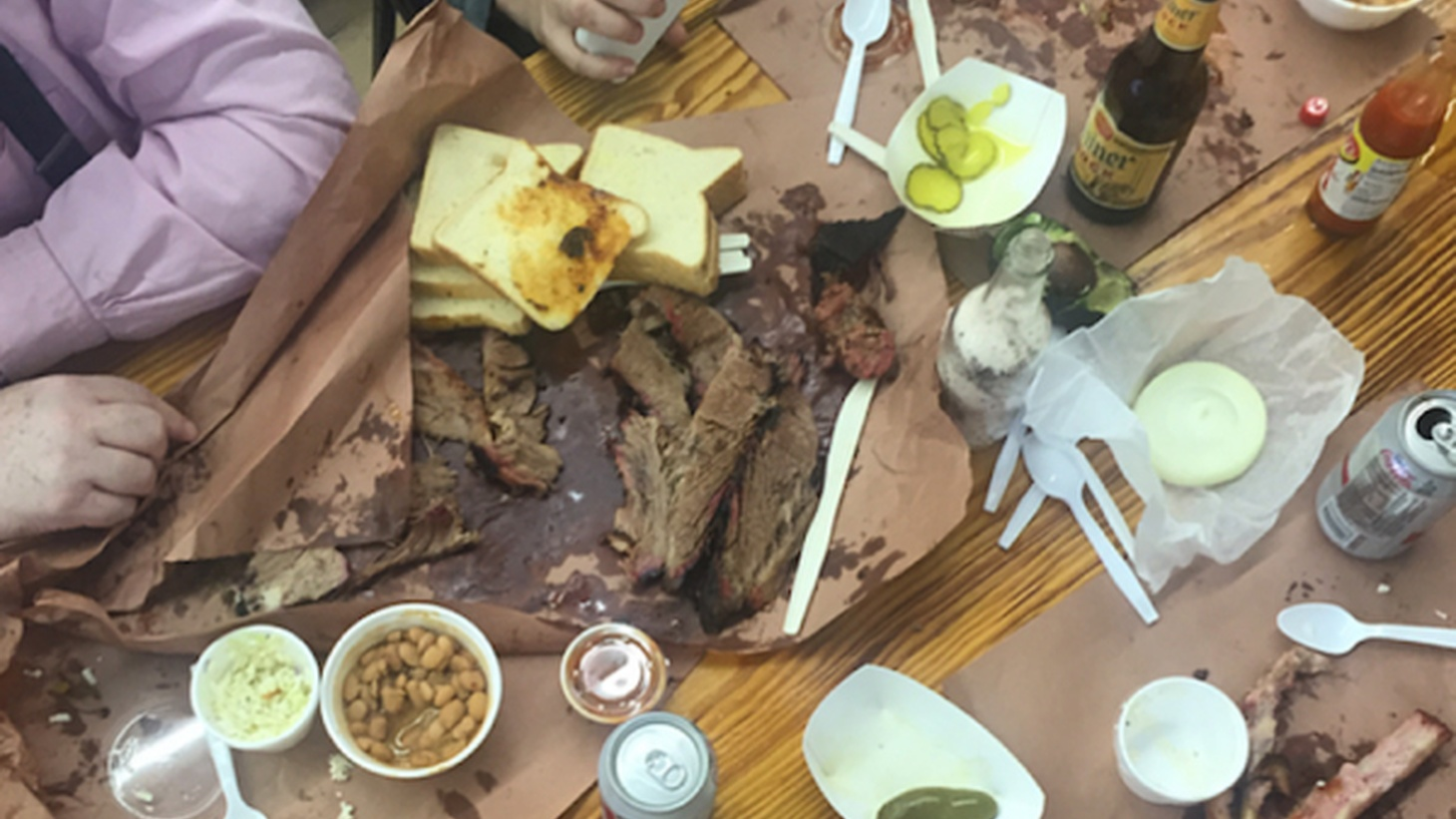 Good Food host Evan Kleiman sits down with Steve Chiotakis to talk about barbecue.
