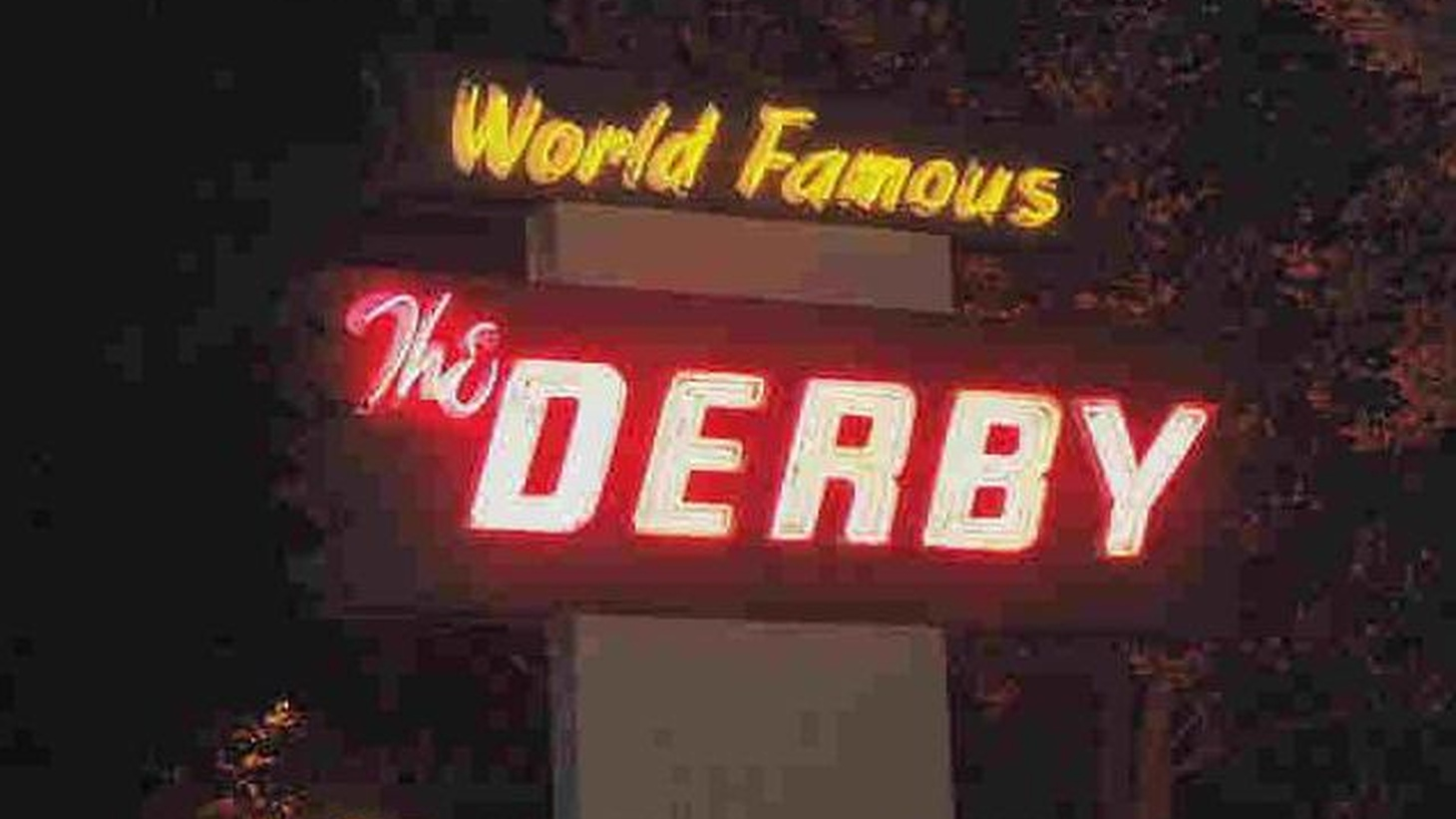 Jonathan Gold revisits a restaurant he originally reviewed 20 years ago. The Derby, which opened in 1922 in Arcadia, intended to cater to jockeys and horse racing fans.