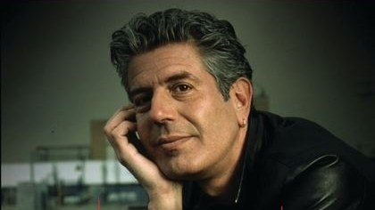 """The front cover of """"Nasty Bits"""" by Anthony Bourdain."""