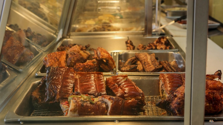 In March, Good Food's Evan Kleiman and friends visited  Toto's Lechon Manok  in Glassell Park.