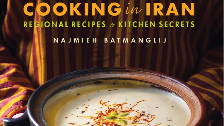 Najmieh Batmanglij   is perhaps the foremost authority on Persian cuisine in the Western world, if not outside of Iran.