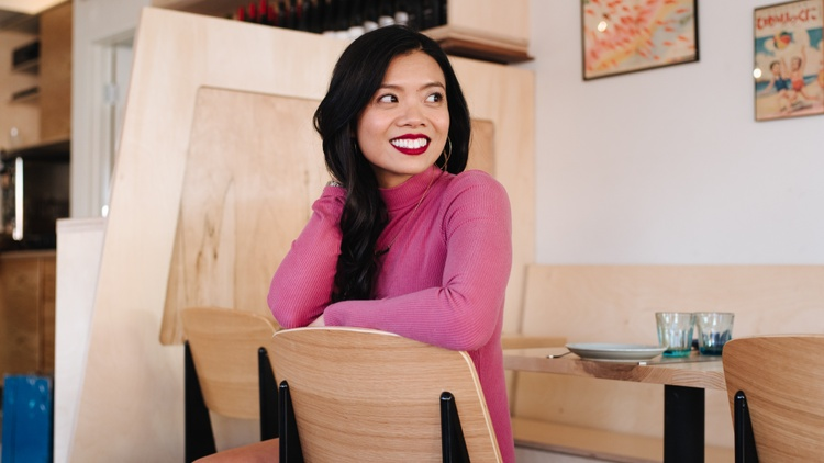 Lien Ta, the restaurateur behind All Day Baby and co-founder of Regarding Her , grew up in nail salons operated by her mother, who worked for tips.