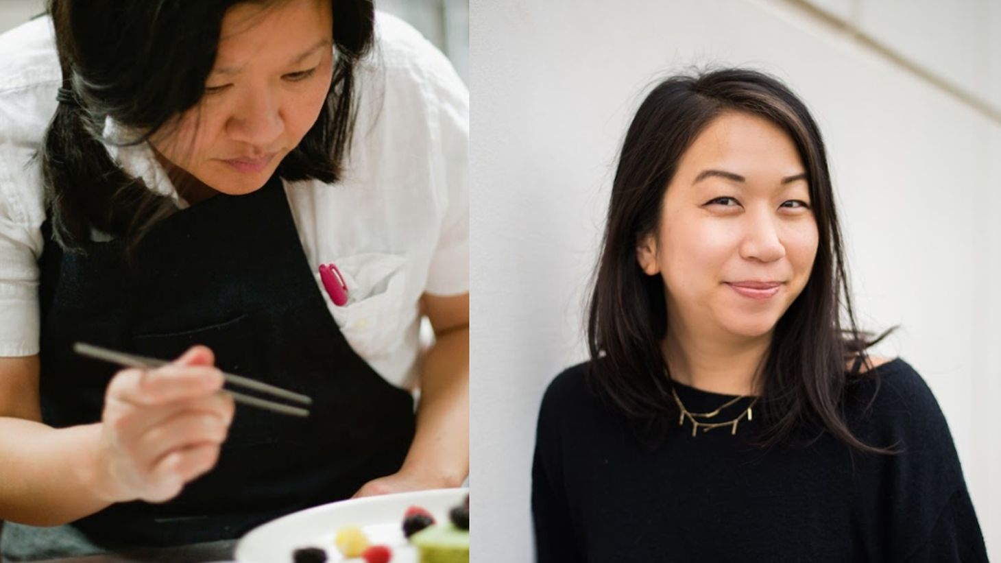 """What I make sure I do in all my food reporting is just address this idea of a monolith and use my privilege to stress we are all really diverse,"" says food writer Esther Tseng (right). She is joined by Chef Minh Phan of PHENAKITE and porridge + puffs to discuss visibility, service, and the idea of authenticity."