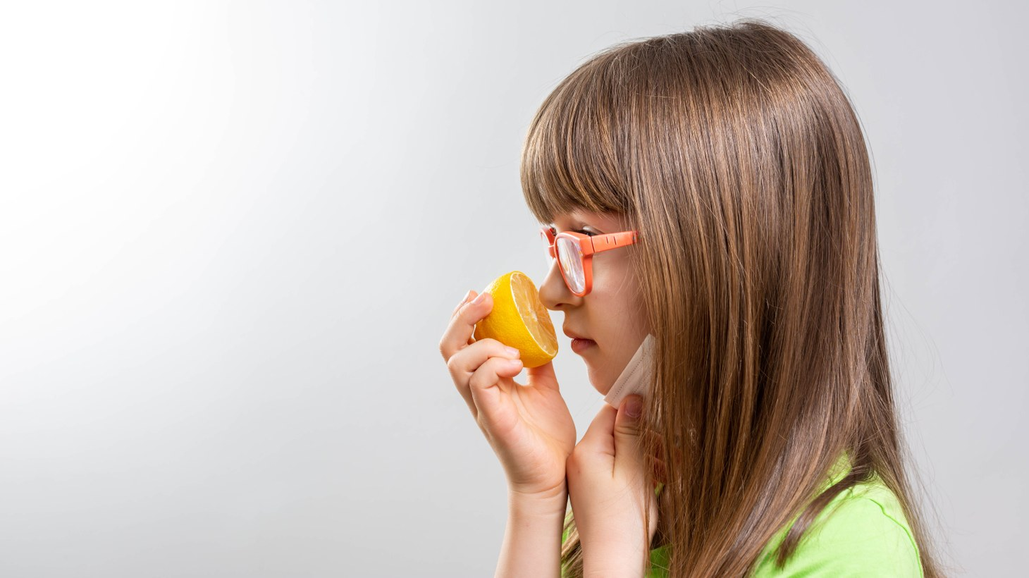 """""""Hundreds of receptors in the nose send signals to the brain that identifies scents. When the sense of smell is lost, the brain can't distinguish between a lime and lemon. They just both taste sour,"""" says Dr. Nancy Rawson."""