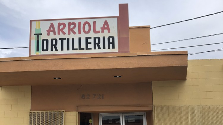 To find the oldest continuously operating tortilleria in Southern California, you need to hop on the 10 Freeway and drive   all the way to the outskirts of downtown Indio to Arriola's…