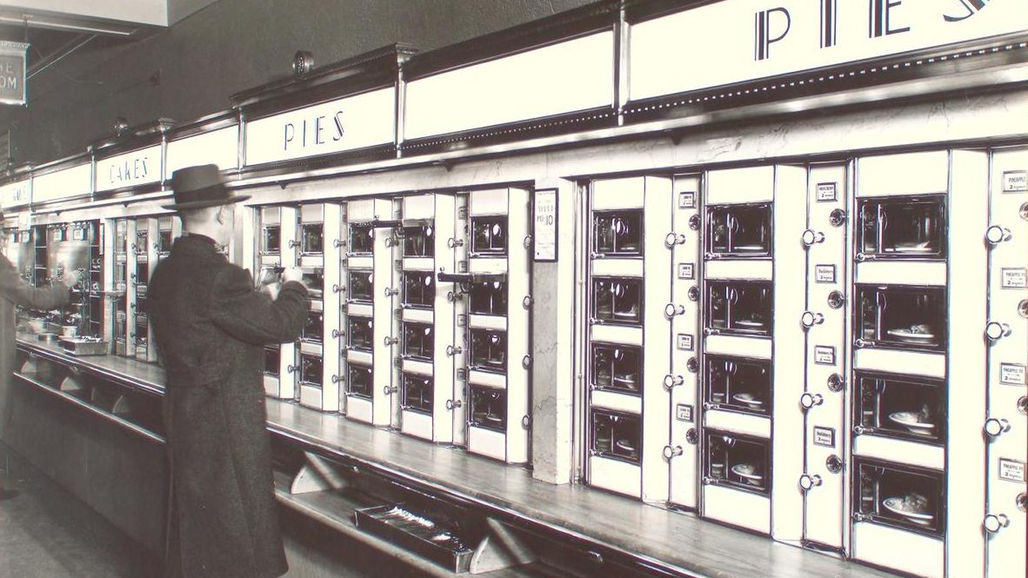 Revisit the bygone days of the automat and home seltzer delivery. Plus, find out what's on the menu for the next mission to Mars.