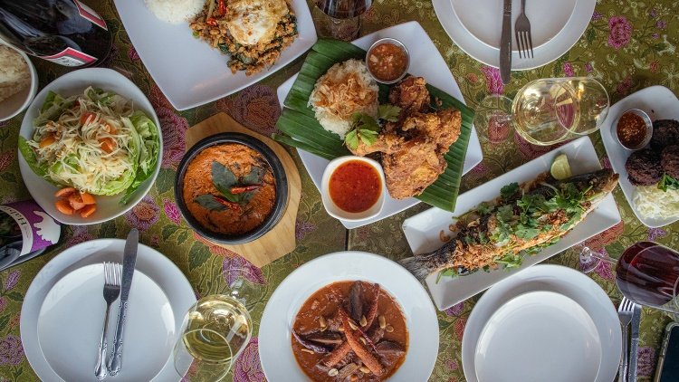 Justin Pichetrungsi's father started Anajak Thai Cuisine in Sherman Oaks in 1981. Pichetrungsi grew up in the restaurant and describes his dad as a hustler in his native Bangkok.