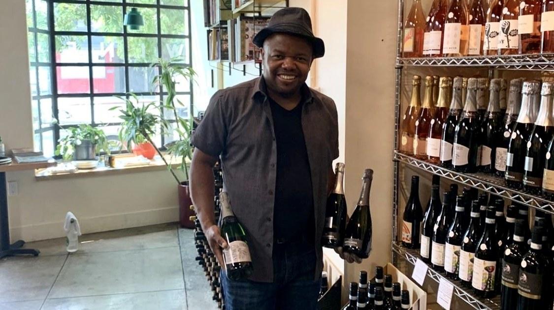 Ruben Morancy of Adams Wine Shop entered the wine business in the Bay Area, where he was baffled by the lack of diversity.