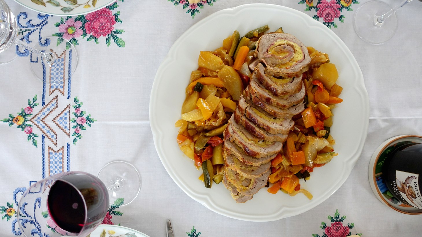 """Excerpted from """"The Italian Table: Creating Festive Meals for Family and Friends"""", by Elizabeth Minchilli, Rizzoli, 2019."""
