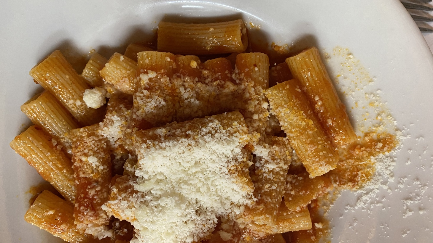 The trifecta of cheese, pasta, and amatriciana sauce provides comfort in the first weeks of the new year.