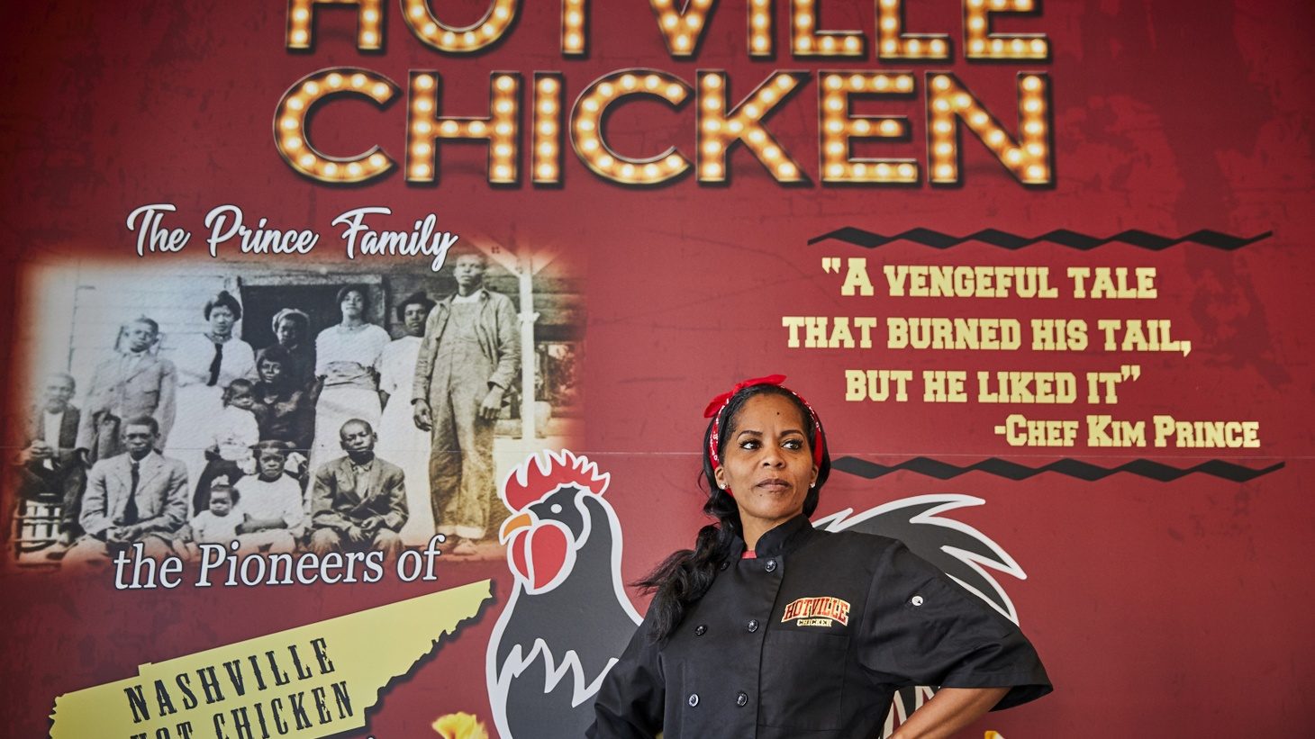 Kim Prince of Hotville Chicken is creating some special desserts for the Regarding Her food festival and is one of nine board members programming the 10-day event.