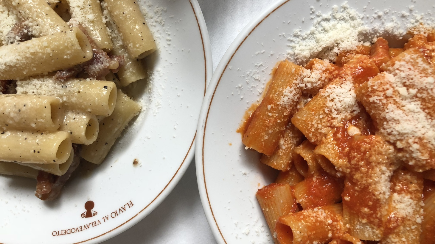 """""""To me bucatini is the most useless shape of pasta ever invented. It does nothing for me,"""" says Sophie Minchilli as she describes her preferences to serve with her amatriciana."""