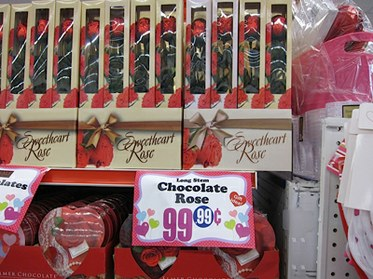 Valentines Day At The 99 Cent Store