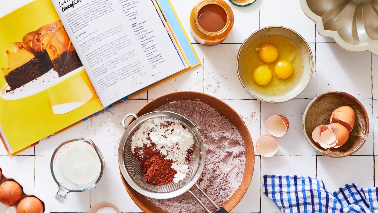 Genevieve Ko of the New York Times Food section suggests reading a recipe carefully and sticking to it, anticipating the steps and they may differ from what one may expect.