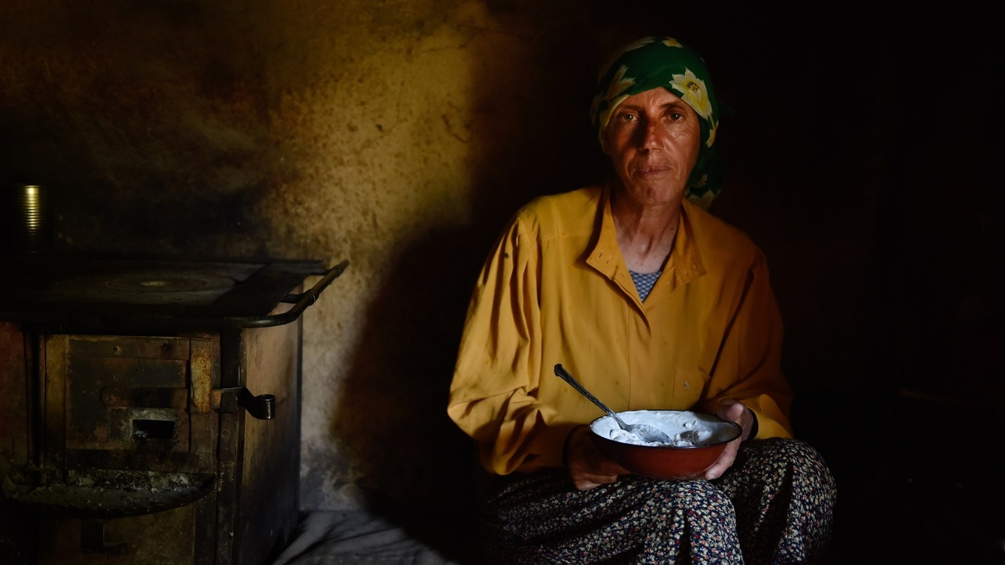 "The star of the documentary ""Honeyland"" is Haditze, a woman living in a remote settlement in the Macedonian mountains."