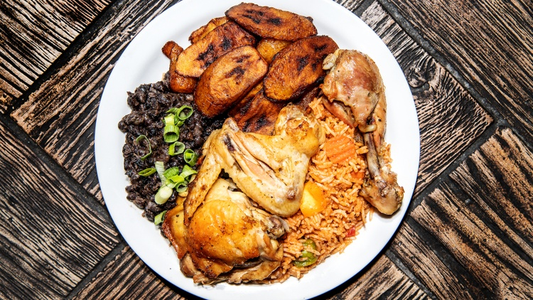LA Times restaurant critic Bill Addison reviews Mama D's in Boyle Heights and its focus on the cuisine of Cameroon.