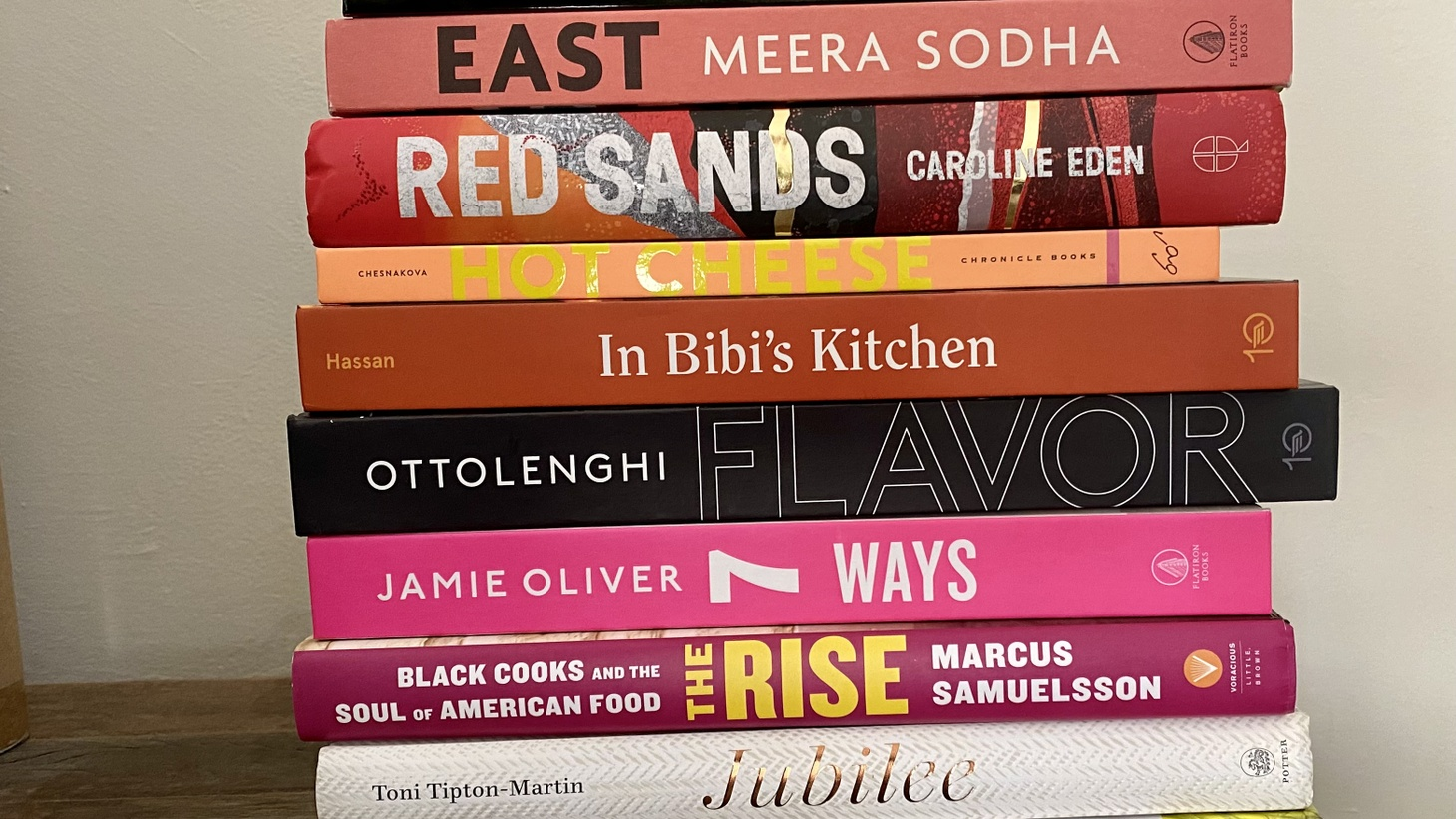 Bread, Black chefs, and comfort food were trends in cookbooks out this year.