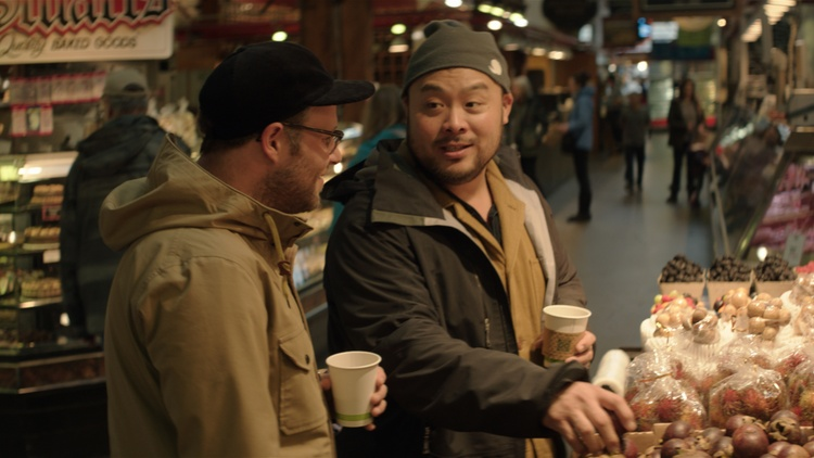 David Chang, food festivals, and lasagna