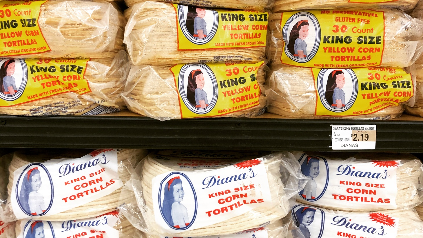 Who is that girl on those Diana's tortilla packages? How Samuel Magaña's daughter became the queen of Gardena