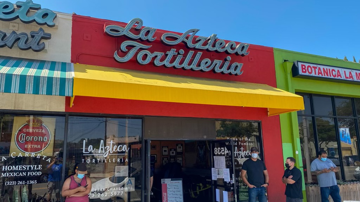 La Azteca is one of over a dozen stops on the tortilla runner's journey across Southern California.