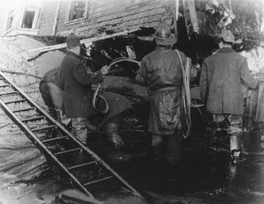 Molasses Flood Firemen