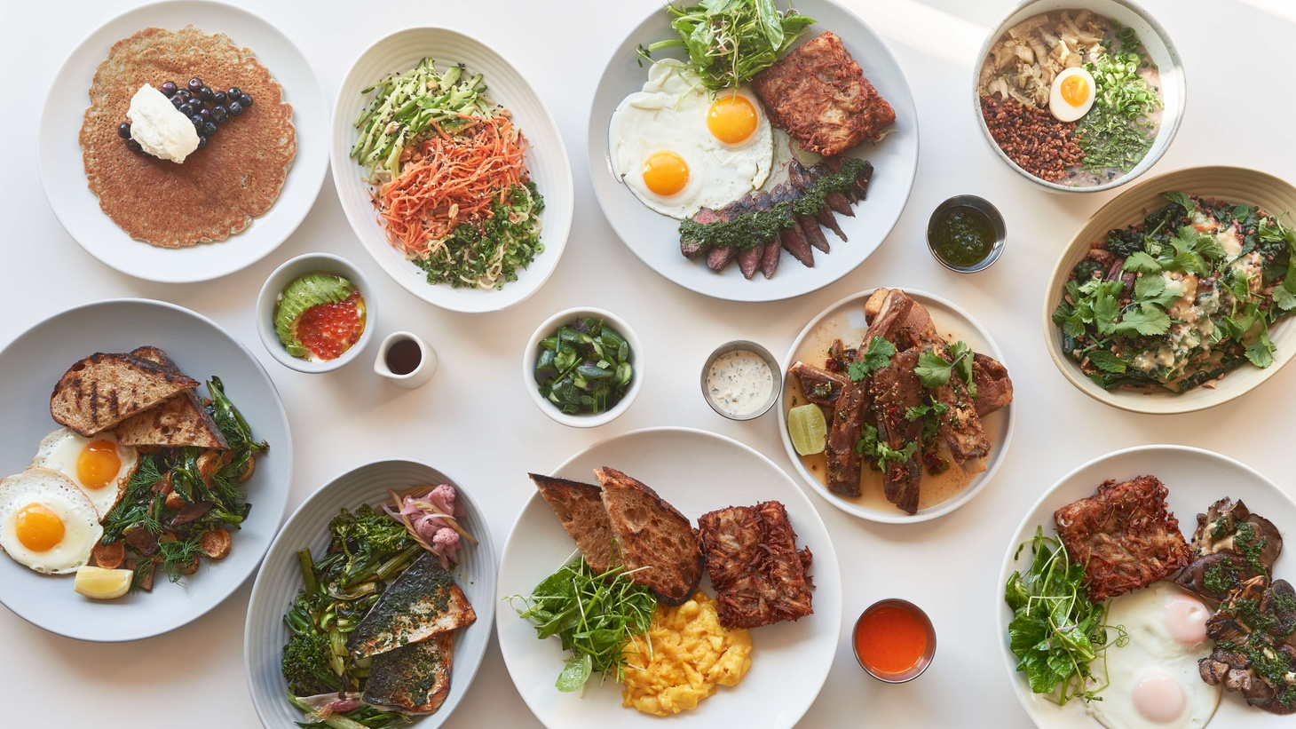 Chef Chris Yang explains that his approach to the pandemic was experimental, offering meals at different price points and gauging the public's interest in foods he made at home, such as his Thanksgiving prime rib.