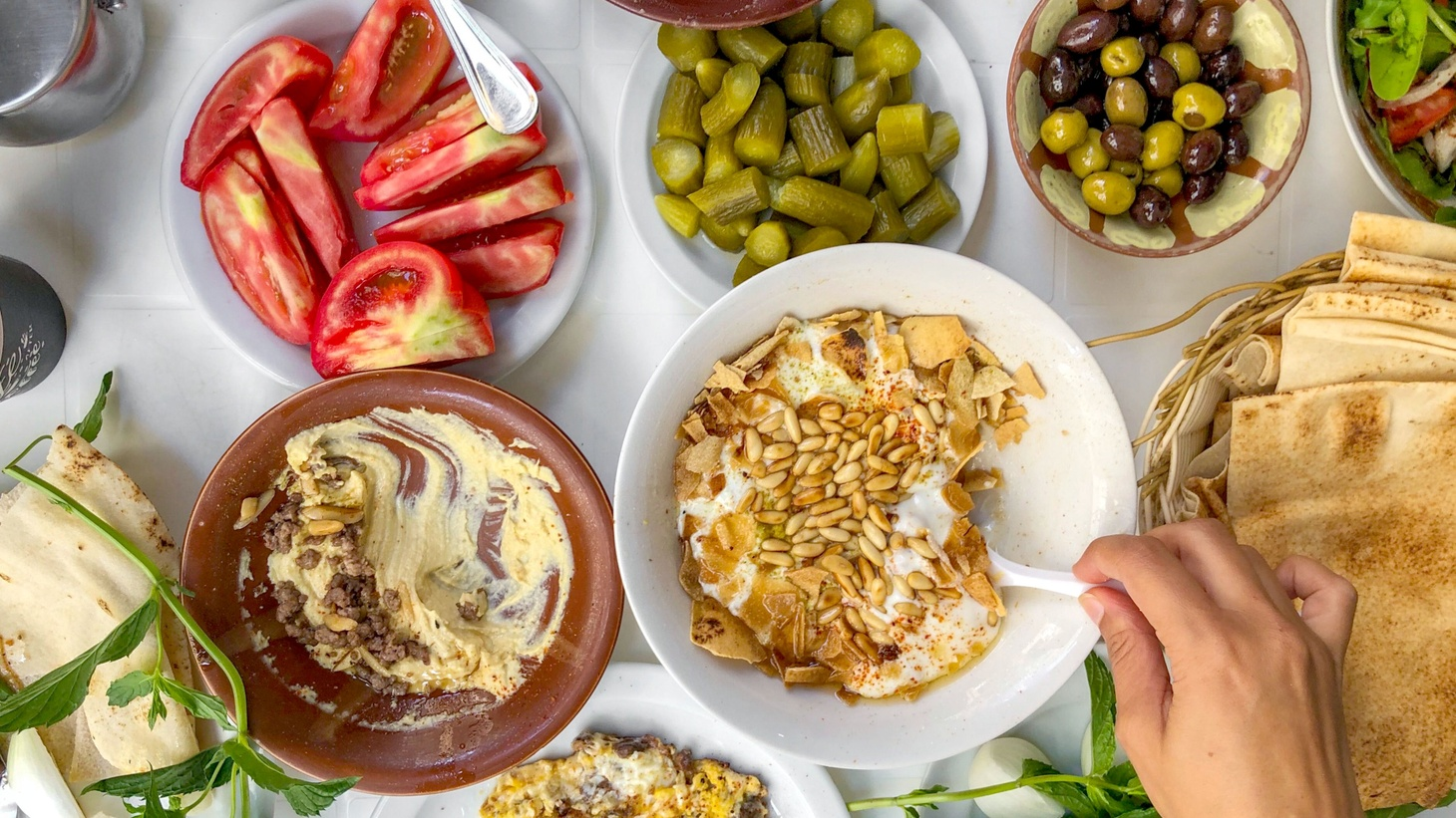 Bill Addison gives Good Food's Evan Kleiman a few of his trip's highlights, while recommending a few noteworthy Lebanese restaurants here in Los Angeles.