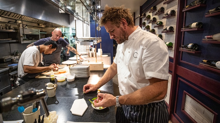 Los Angeles chef  Curtis Stone   is a native Australian who's traveled the world in search of new ingredients and exceptional wine.