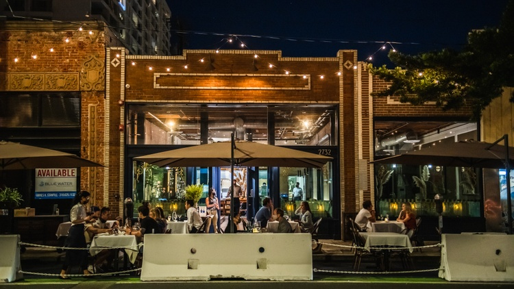 Parking spots were once the most coveted asset of a Los Angeles restaurant, and now businesses are using these spots for outdoor dining.