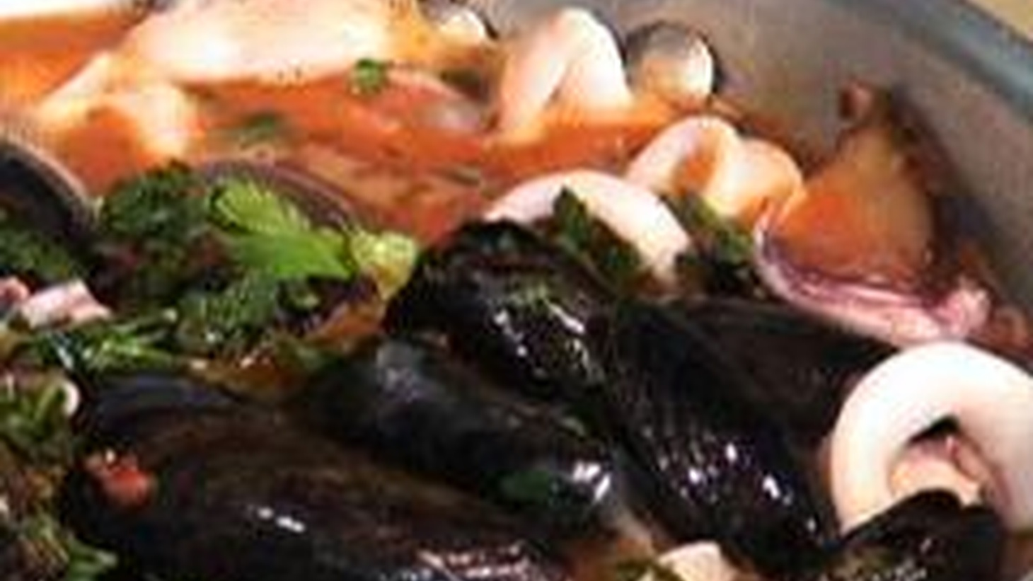 Don't tell anyone how easy it is to toss together some great fish -- shrimp,  mussels, a nice piece of white fish, some calamari -- and create an elegant  looking soup that looks like you slaved all day! Watch, learn, drool.
