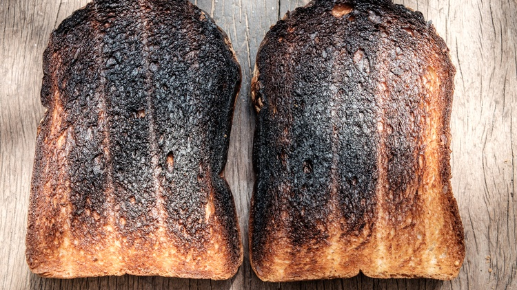 """You can take inspiration from disappointment in chef Cal Peternell's latest book, """"Burnt Toast and Other Disasters."""" Photo courtesy of HarperCollins."""