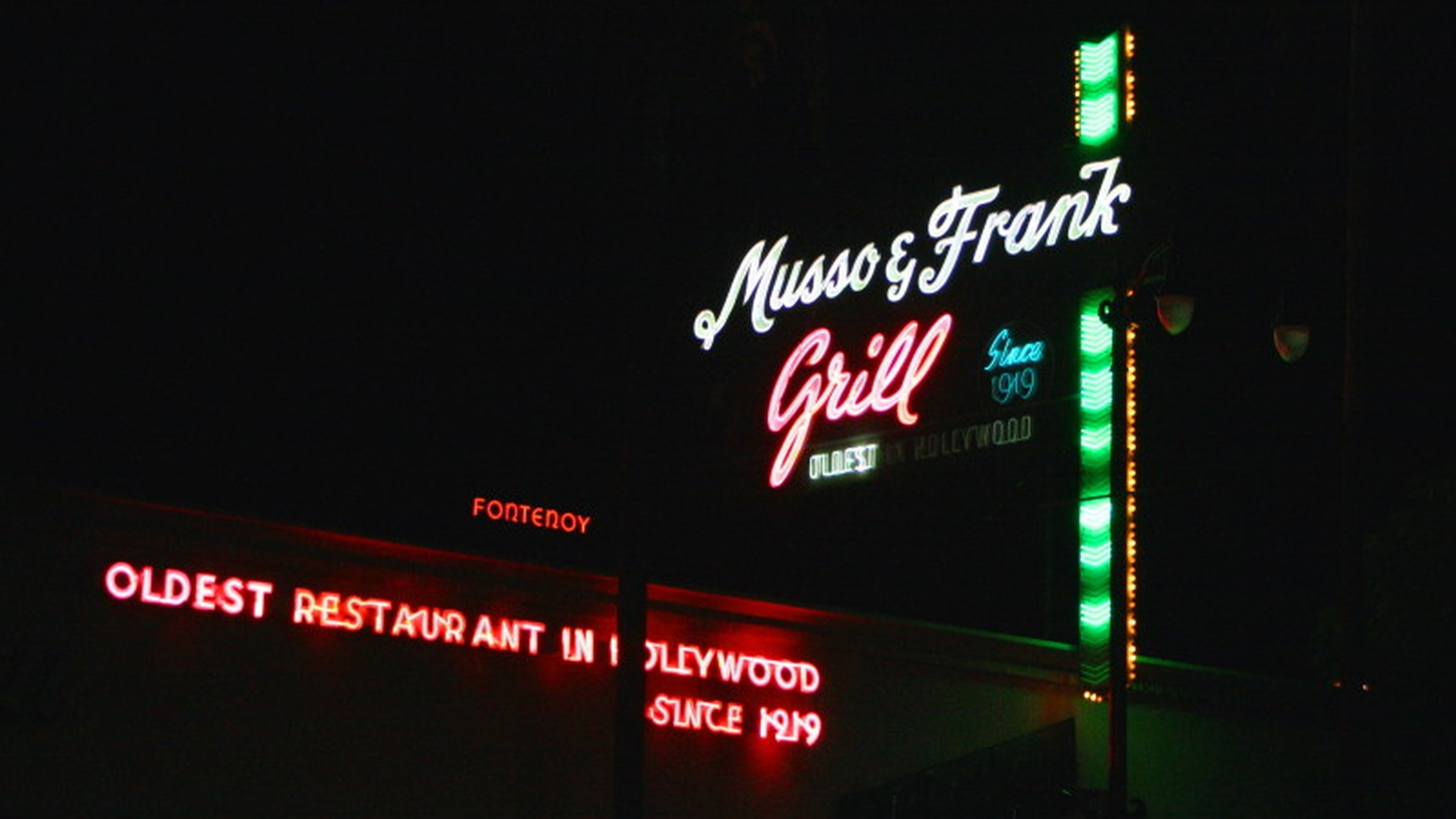 Musso and Frank.