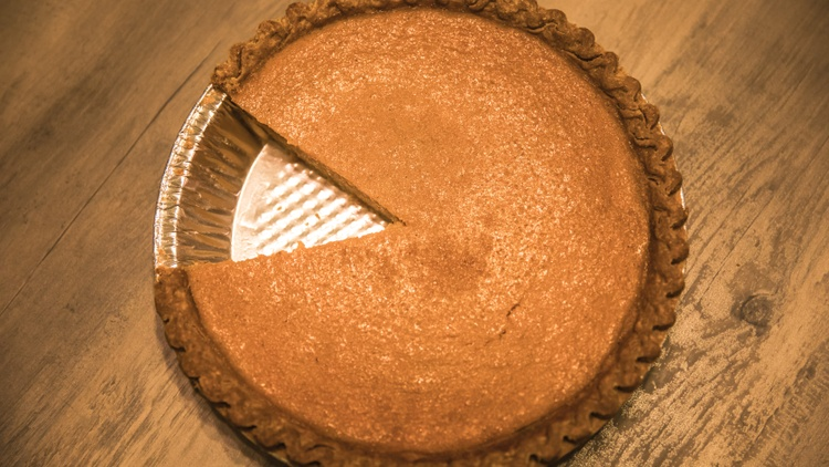 Evan's Gingersnap Sweet Potato Pie Recipe