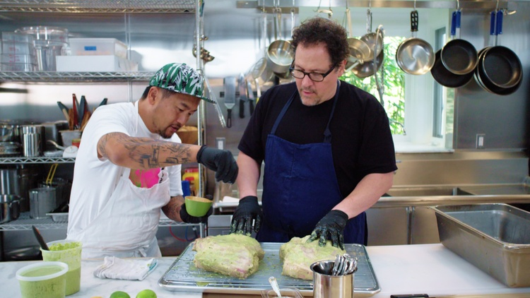 """Netflix has released season 2 of """"  The Chef Show  ,"""" in which famed director Jon Favreau teams up with chef Roy Choi to explore food with renowned chefs and celebrity friends.     …"""