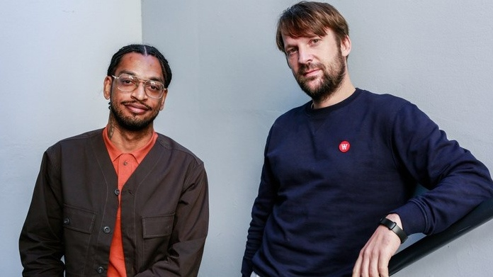 From Copenhagen to Santa Monica: David Zilber (L) and Rene Redzepi (R).