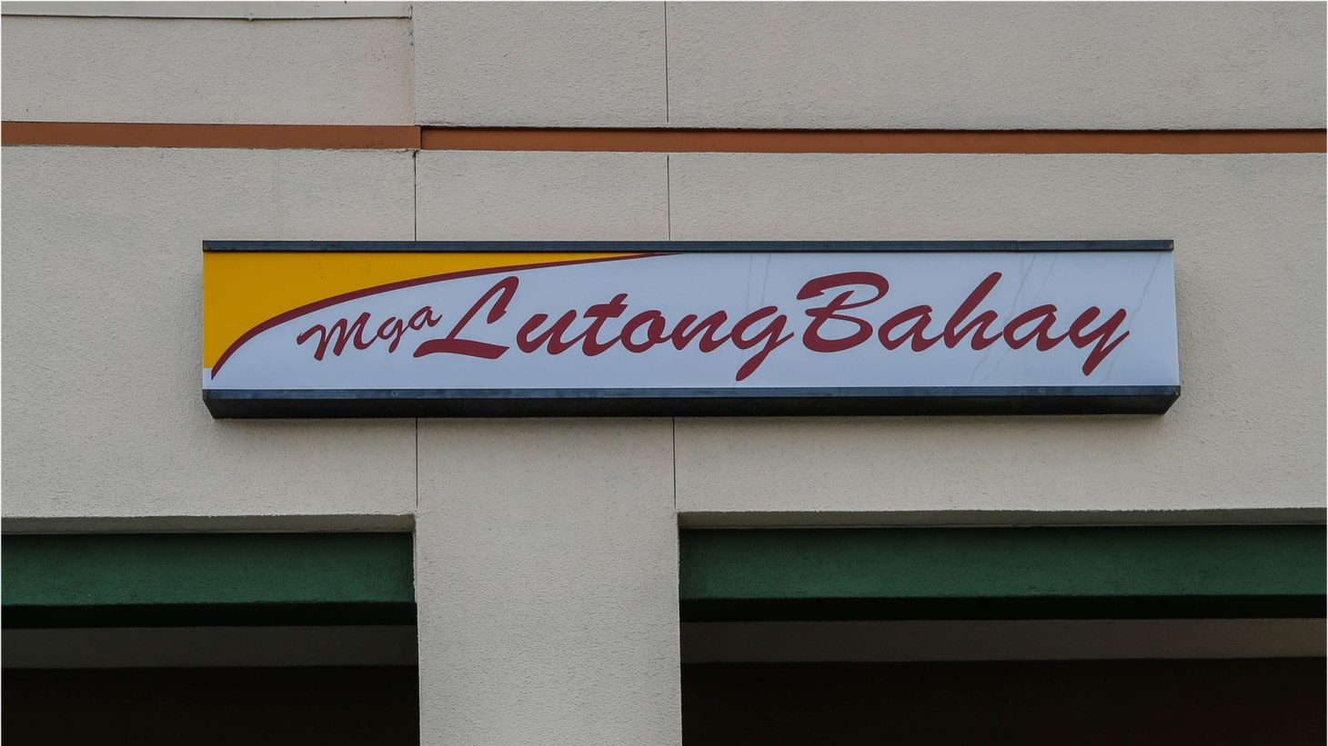 "Lutong Bahay, a common style of Filipino restaurant called a ""turo turo."""