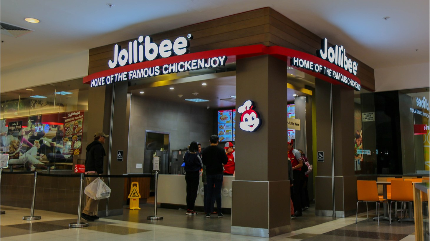 Jollibee is a Filipino fast food chain with more than 1,200 restaurants worldwide, including Times Square.