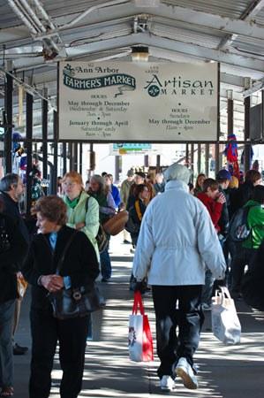 Ann Arbor Farmers Market Sign