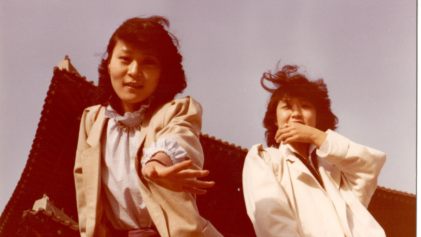 """Michelle Zauner, who records under the name Japanese Breakfast, featured her mother (left) on the cover art for her album, """"Psychopop."""" Zauner's new memoir is a heartfelt reflection of loss and the comfort of food, family, and heritage."""