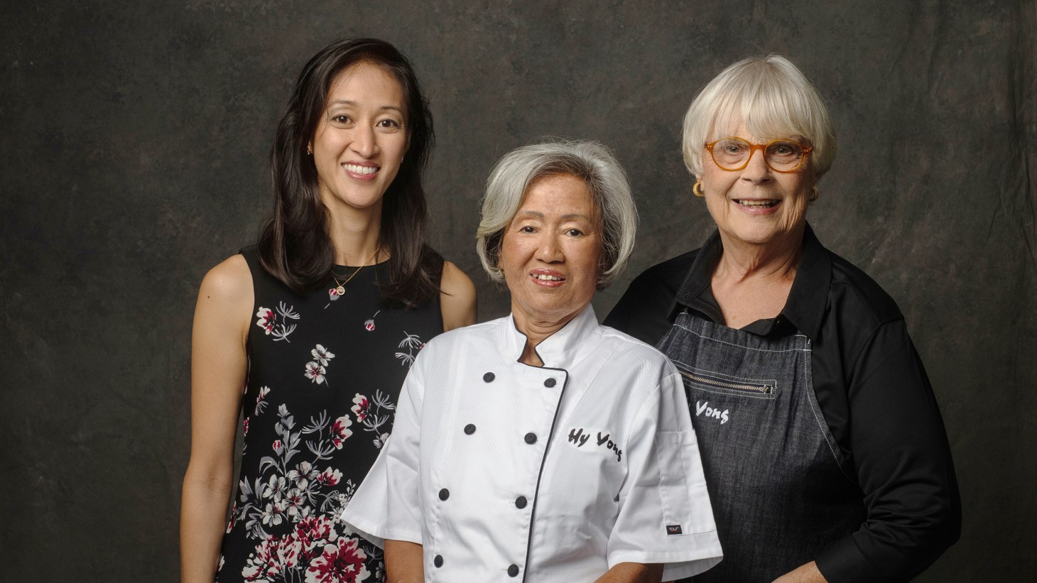 Lyn Nguyen (left) remembers peeling carrots as a child at Hy Vong, the restaurant started by her mother, Tung Nguyen (center) and Kathy Manning (right), who she refers to as her second mother.