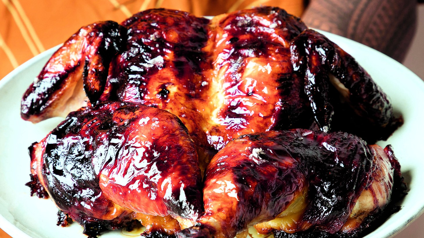 """""""Huli"""" means """"turn"""" in Hawaiian, a reference to the grills used to make the iconic chicken dish in Hawaii."""