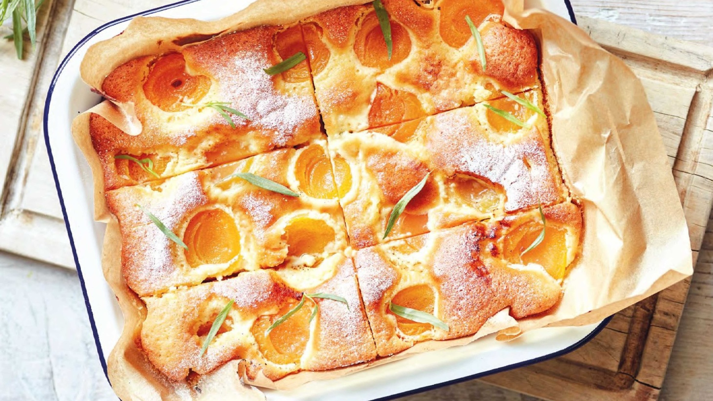 Romanians love to cook with fruit and this easy apricot cake is a seasonal stunner.