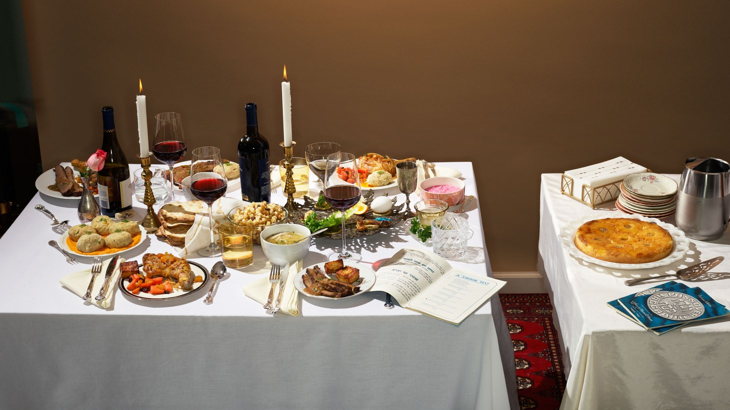 """Passover scenes from """"Eat Something."""""""