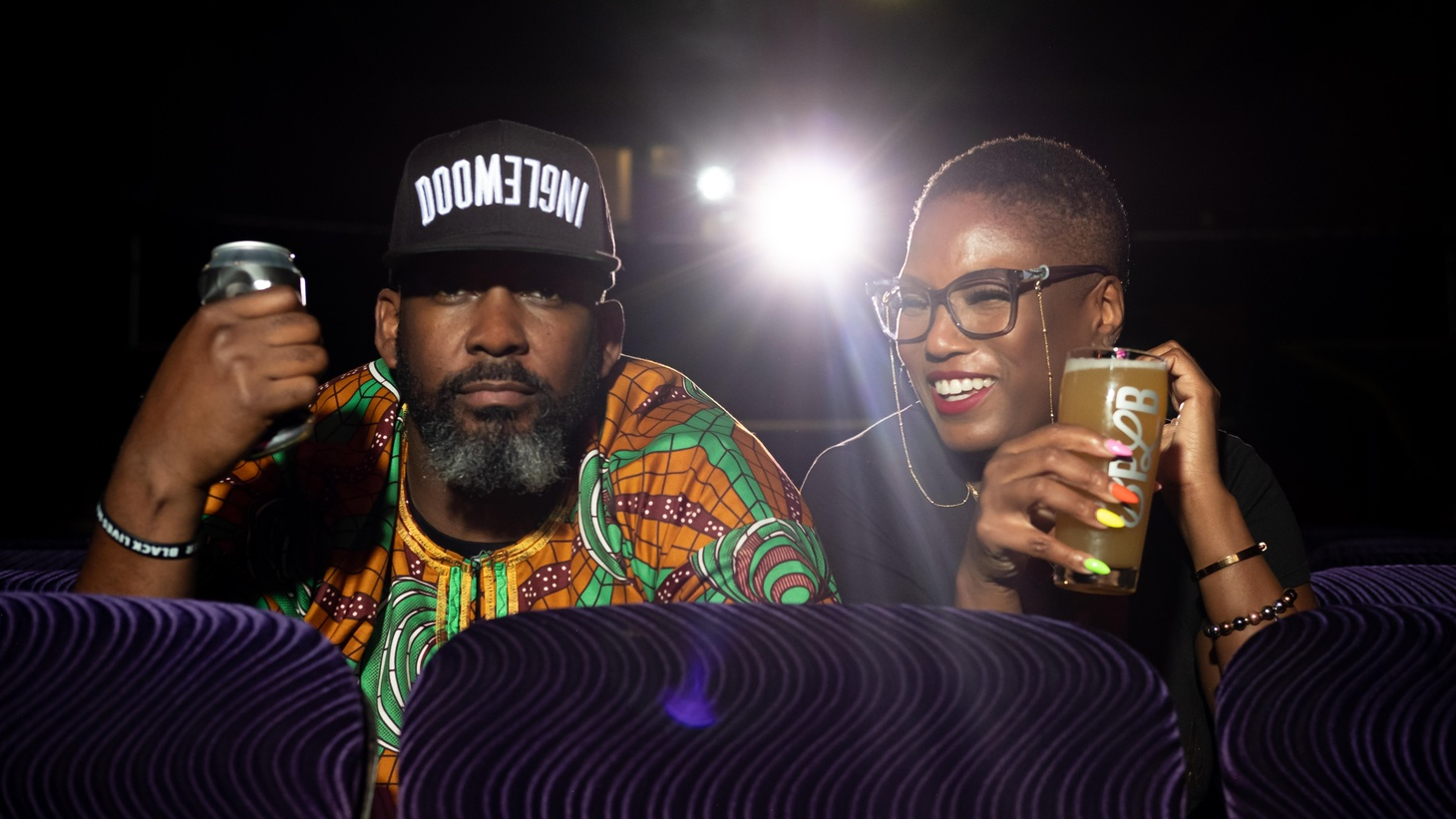 Teo Hunter and Beny Ashburn of Crowns & Hops started in the industry 7 years ago, set on showcasing Black and brown culture in craft beer.