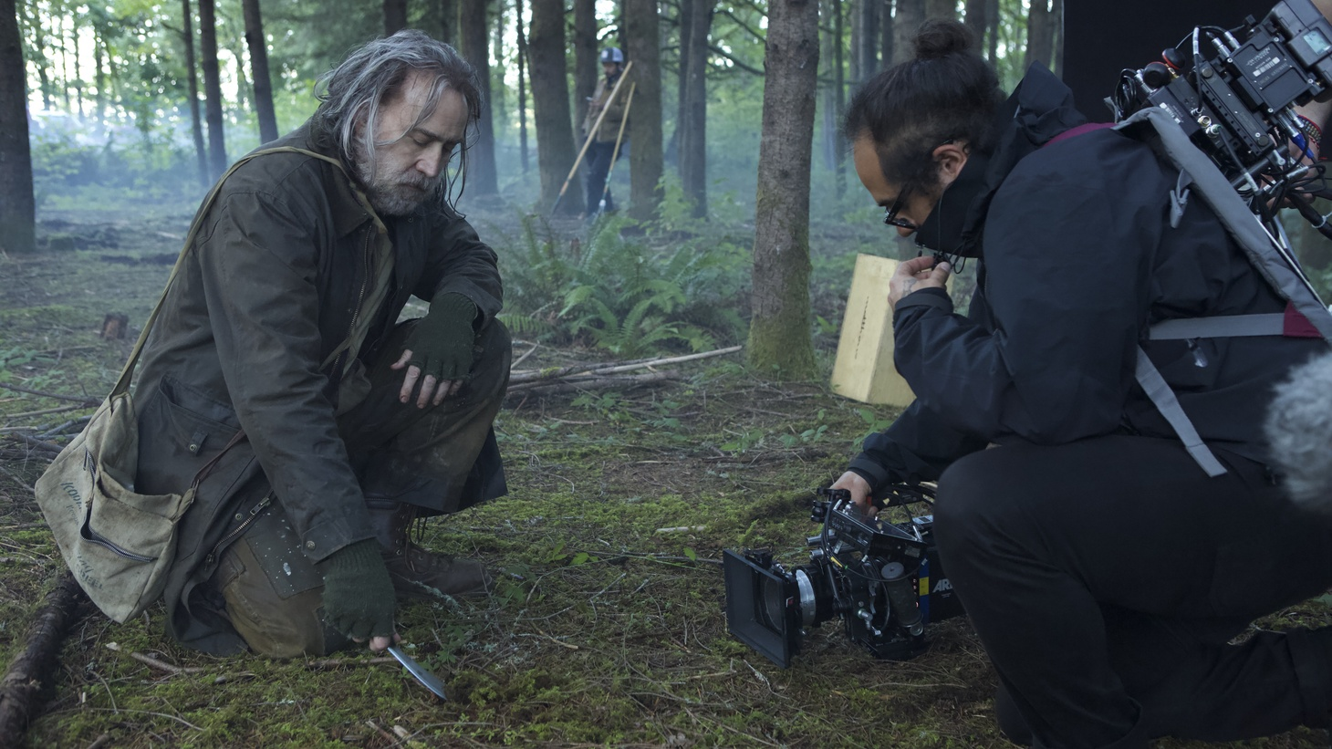"""Nicolas Cage plays a celebrated chef turned reclusive truffle hunter in Michael Sarnoski and Vanessa Block's film, """"Pig."""""""